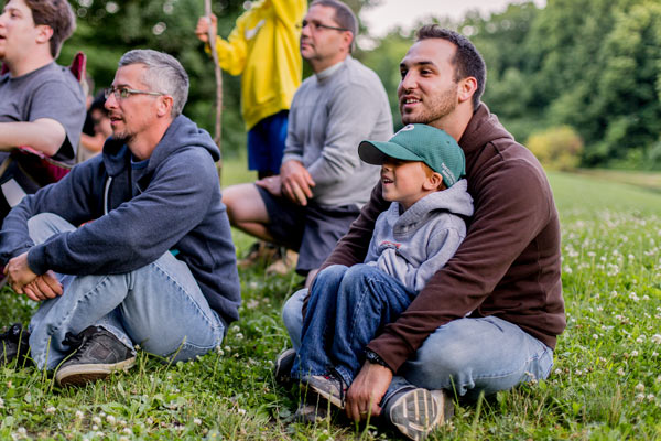 Bridages helps dads learn how to become Christian role models for their boys